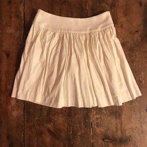 Express Cream Skirt Size 2